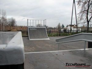 Skatepark w Warce - 7