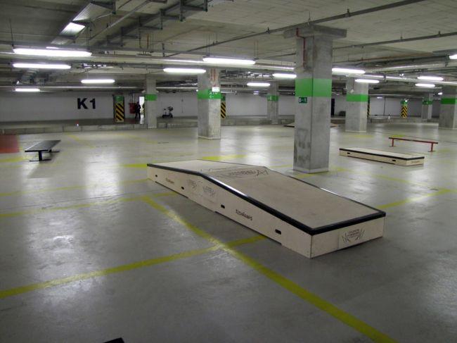 Skatepark Warsaw National Stadium