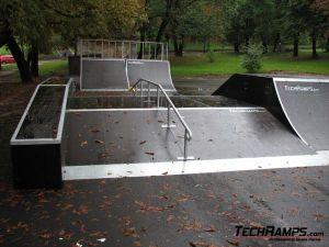 Skatepark we Lwowie - Ukraina - 2
