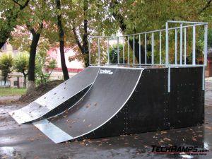 Skatepark we Lwowie - Ukraina - 4
