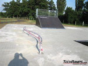 Skatepark we Wschowie poręcz