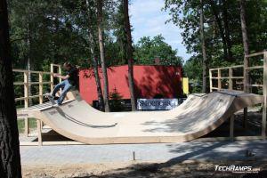 Skatepark Woodcamp 2010, Przysucha - 10