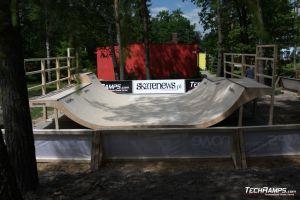Skatepark Woodcamp 2010, Przysucha - 9