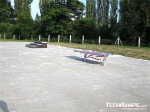 Skatepark Wschowa ławka