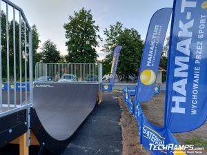 Skatepark Wymysłowo - skatepark drewniany modułowy