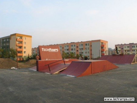 Skateparks in Cracow