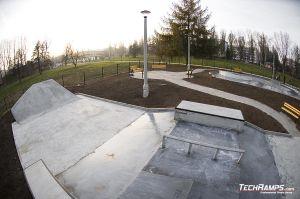 Skateplaza beton - Kraków Mistrzejowice
