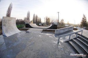 Skateplaza w Krakowie Mistrzejowice