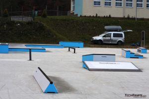 Skateplazy betonowe