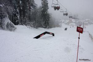 Śnieznica snowpark - Kasina Wielka