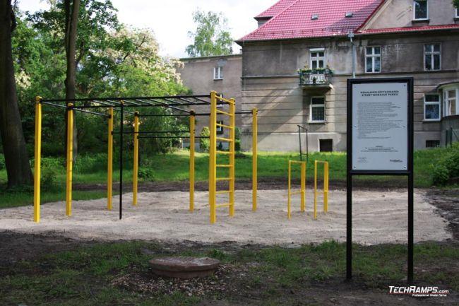 Street Workout  Lubliniec - Parkour Park