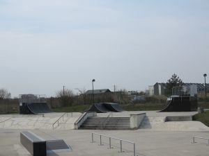 Tarnowskie Góry - modułowy skatepark
