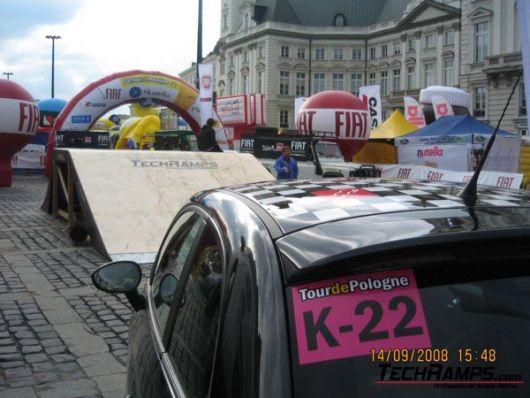 Techramps na Tour de Pologne