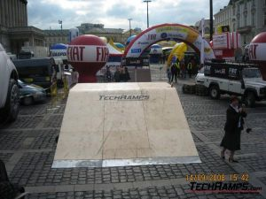 Techramps na Tour de Pologne - Warszawa - 2