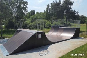 Techramps skatepark i tre