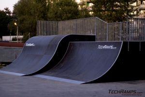 Techramps skatepark w Jastrzębiu