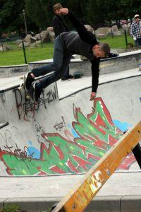 Tony Hawk- Skatepark Mistrzejowice - krakow