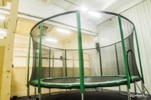 Trampoline - one of our skatepark's elements