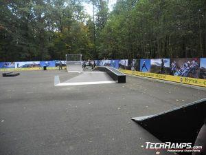 Ukraina Bucza Skatepark Panorama