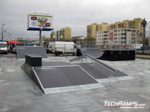 Warszawa Bemowo Funbox z grindboxem