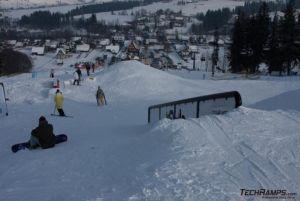 Witów ski techramps snowpark 2