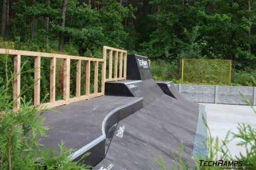 Woodcamp 2008 skatepark