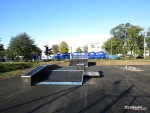 Wooden skatepark - Piotrków Kujawski