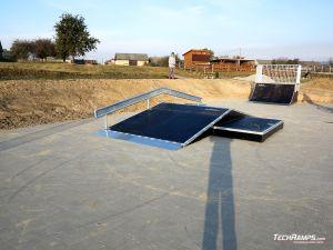 Wooden skatepark Standard - Baćkowice
